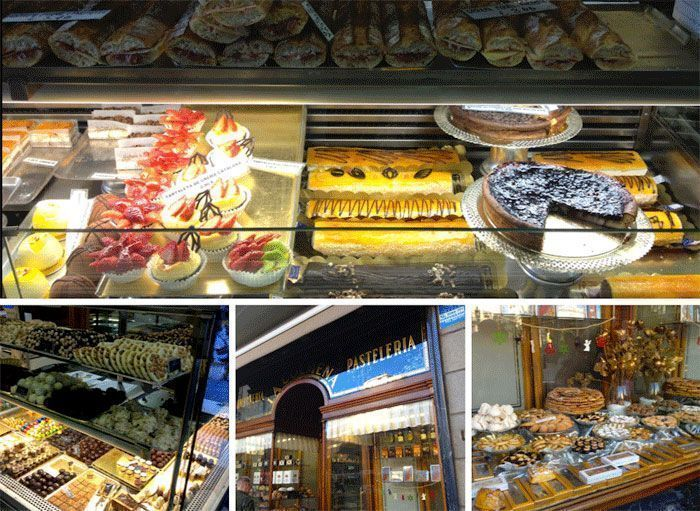 mix-escaparate-pasteles-pasteleria-la-colmena-barcelona