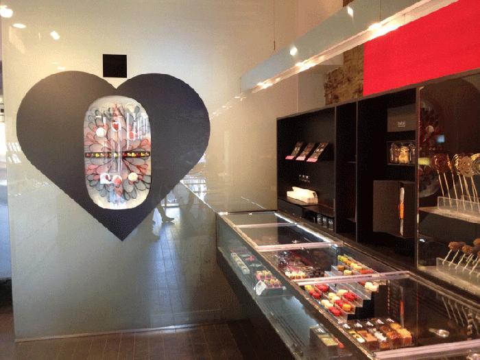 pastelería hubo barcelona interior