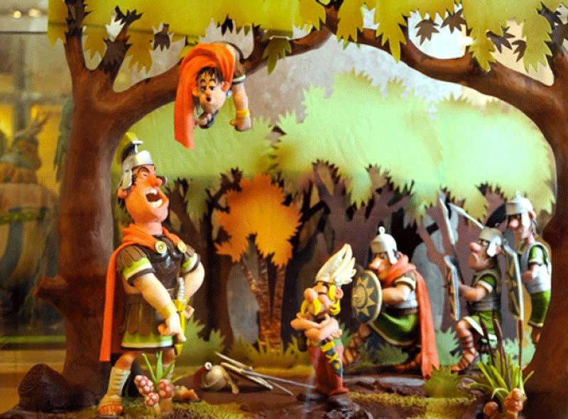 asterix-figuras-museo-de-chocolate-barcelona