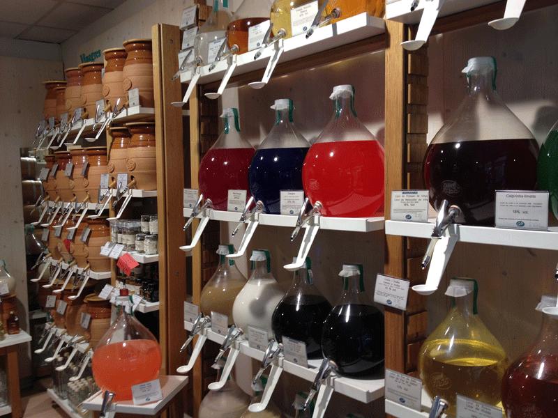 barriles-vinagres-aceites-a-granel-tienda-vom-fass-barcelona