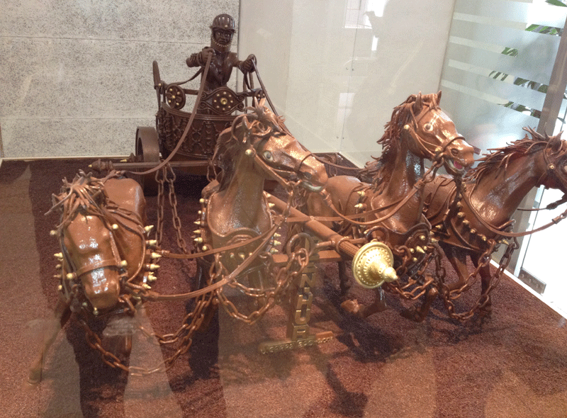 caballos-chocolate-museo-del-chocolate-barcelona