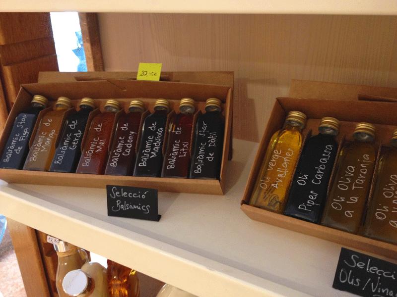 vinagres-aceites-tienda-vom-fass-barcelona