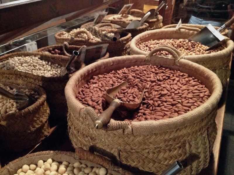 almendras-a-granel-casa-gispert-frutos-secos-barcelona
