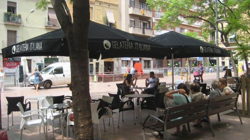 terraza-gelateria-italiana-gracia-barcelona