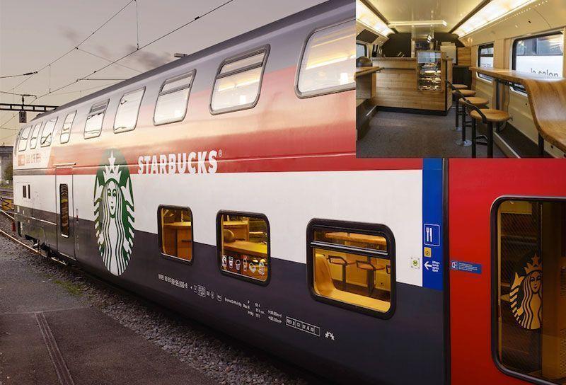 Starbucks-tren