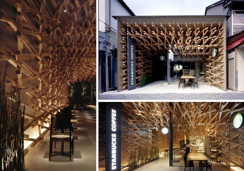 Starbucks-original-madera-Japon