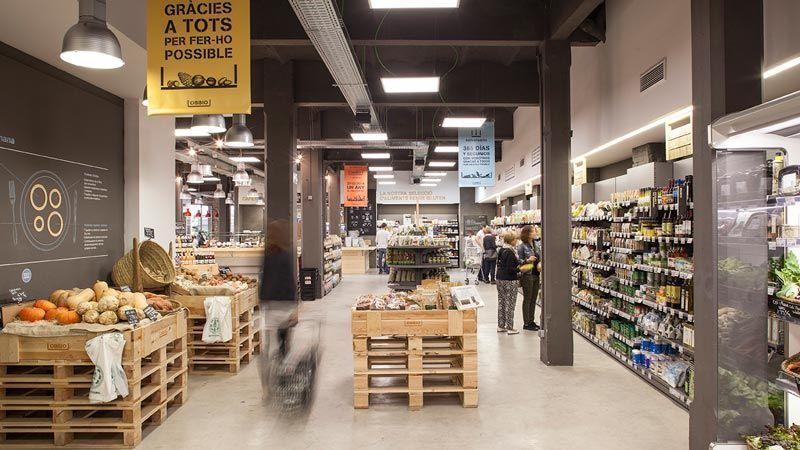 5 Supermercados Ecológicos en Barcelona
