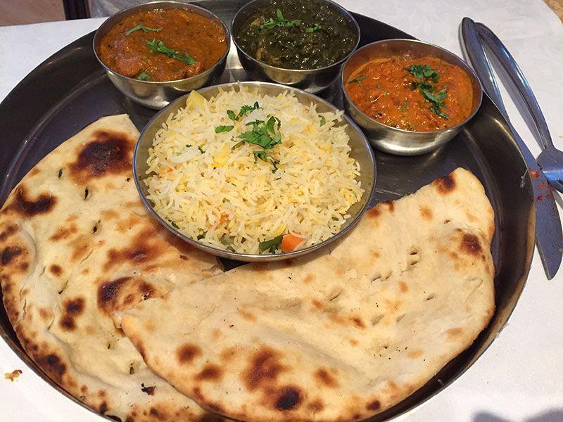 comida india restaurante namaste barcelona