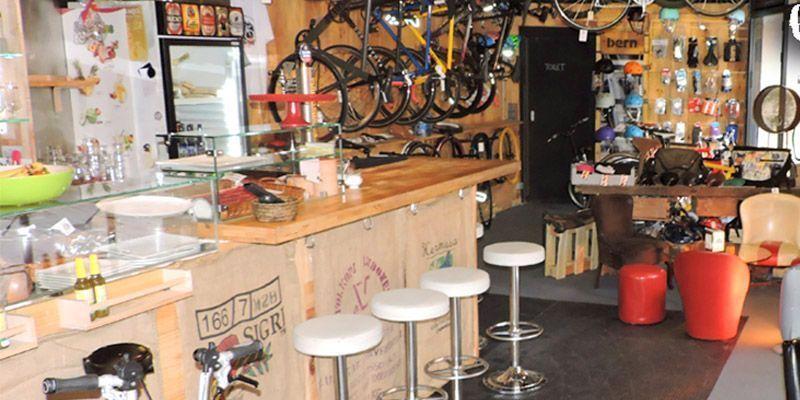 bike club barcelona cafeteria para bicis