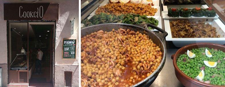 cookcio tienda de comida para llevar barcelona