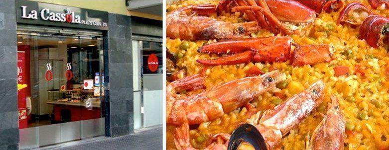 la cassola tienda de comida para llevar barcelona