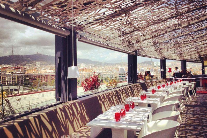 abrassame restaurantes para cenas de empresa barcelona