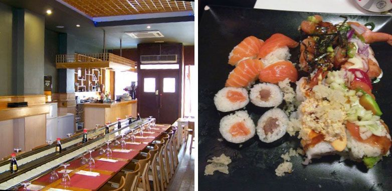 Awesome 7 Restaurantes Japoneses Buffet Libre En Barcelona Y Por Interior Design Ideas Oxytryabchikinfo