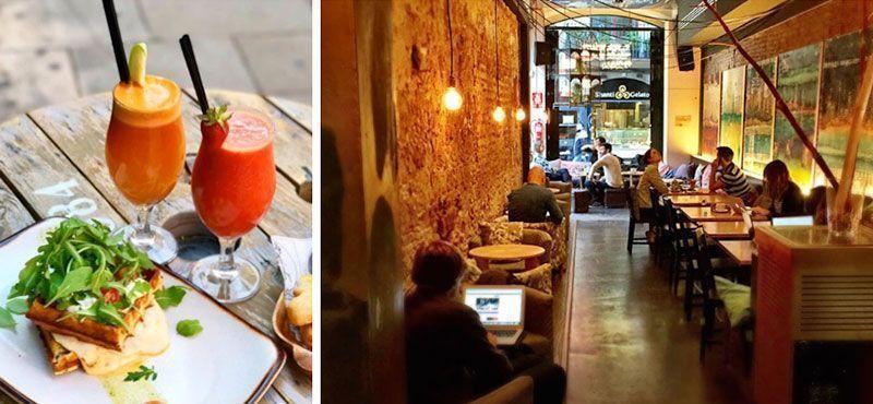 alsur cafeterias con wifi en barcelona