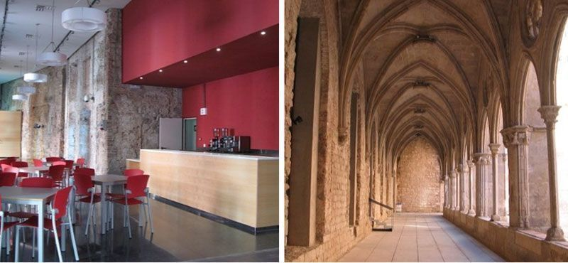 bar ocnvento sant agusti cafeterias con wifi en barcelona