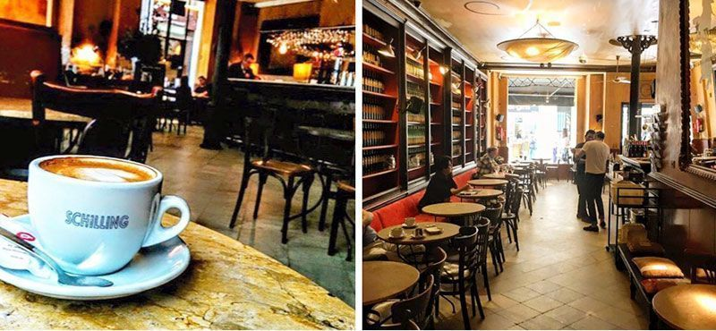 schilling cafe cafeterias con wifi en barcelona
