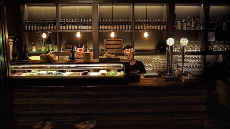 kitsune restaurante buen sushi en barcelona
