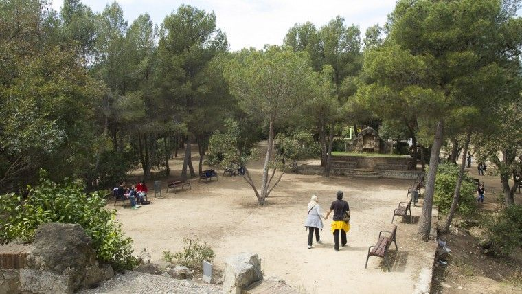 parc l'oreneta sitios picnic en barcelona