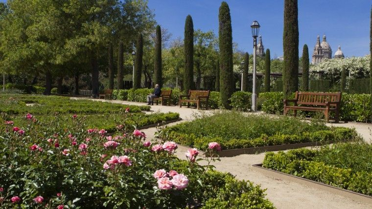 jardines del grec sitios picnic en barcelona