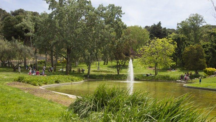 jardines mossen cinto verdaguer sitios picnic en barcelona