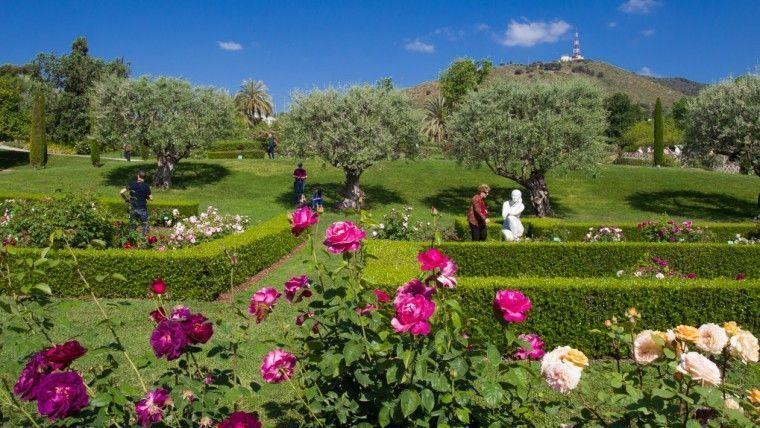 parc de cervantes sitios picnic barcelona