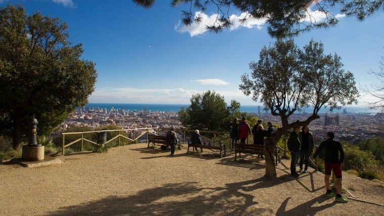 parc del guinardo sitios picnic en barcelona