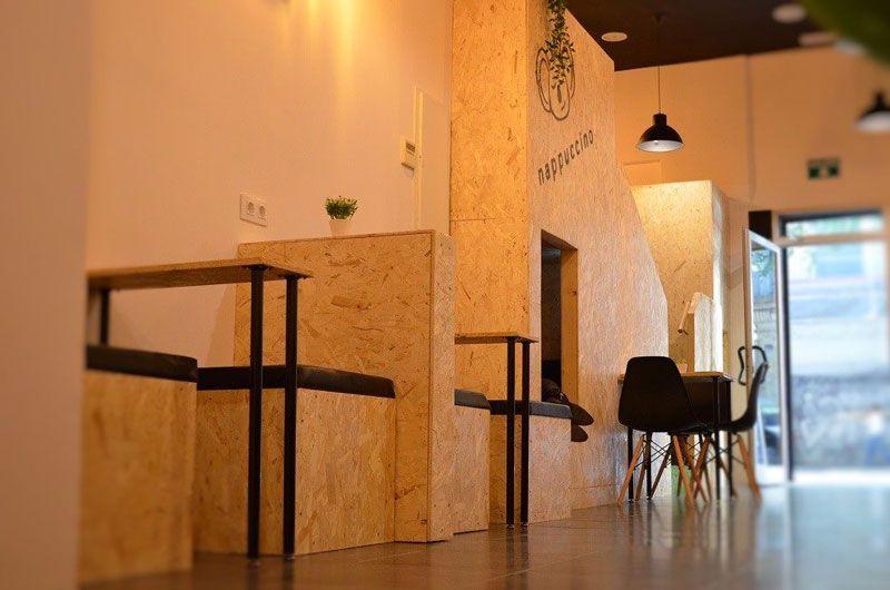 mesas nappuccino siesta café barcelona