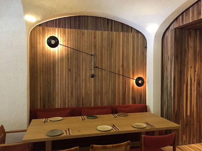 interior restaurante green spot barcelona