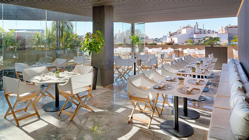 hotel the one terraza barcelona
