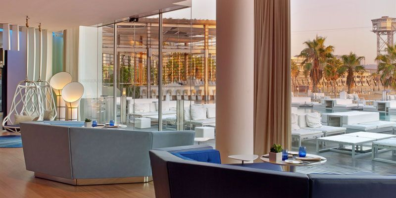hotel w restaurante hotel barcelona