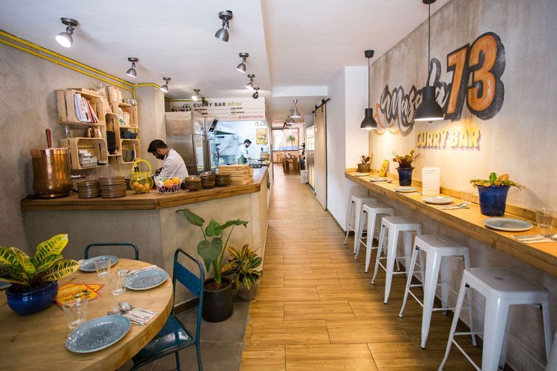 interior restaurante masala 73 barcelona