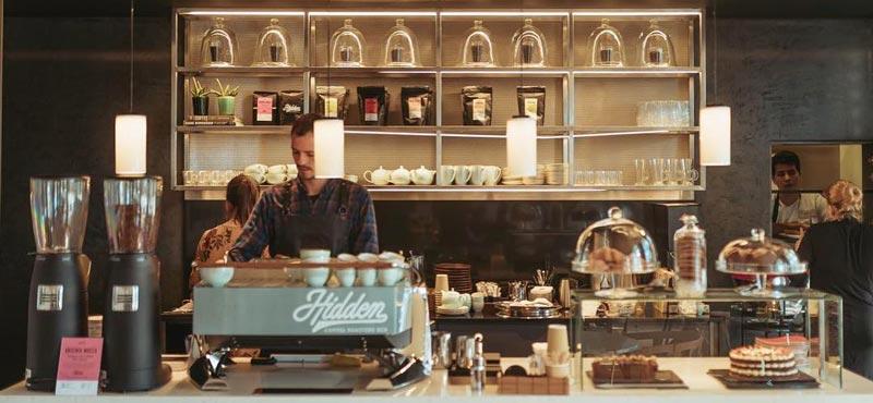 hidden café mejor café de barcelona
