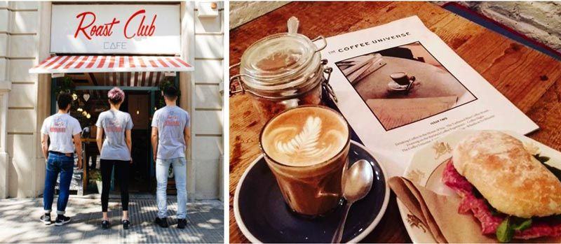 roast club cafe mejores cafes barcelona