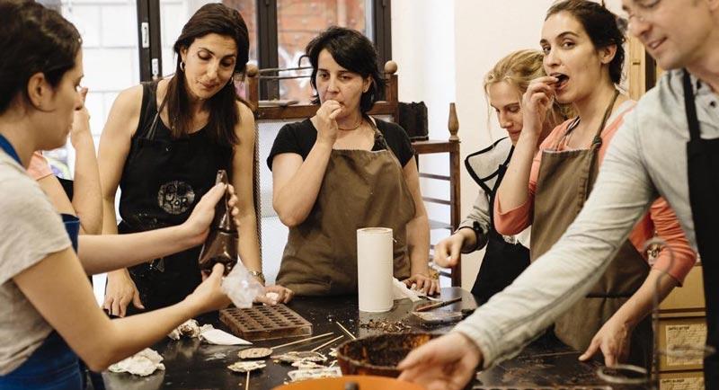 talleres de chocolate en barcelona