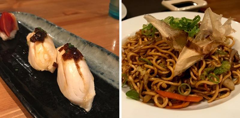 sushiraku restaurante japones buen sushi barcelona
