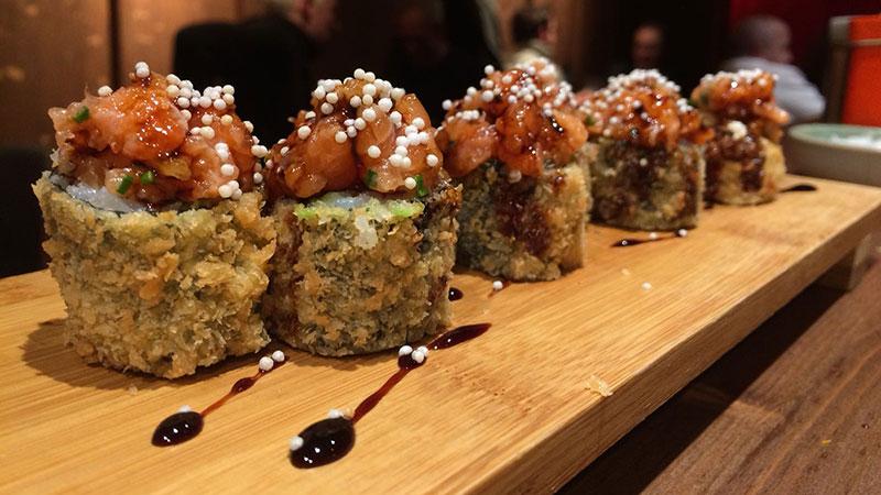 mako taberna con buen sushi en barcelona