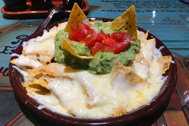 nachos restaurante la mordida madrid