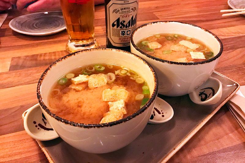 sopa de miso okashi sanda restaurante japones sin gluten madrid