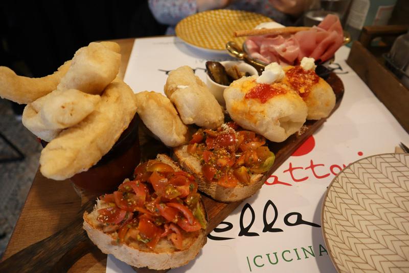 tagliere bella italia restaurante italiano barcelona