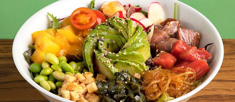 restaurantes a domicilio en Barcelona durante el coronavirus comida sana