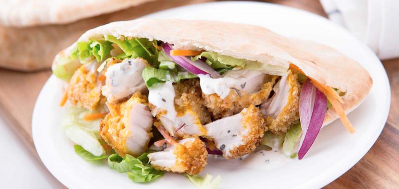 restaurantes a domicilio en Barcelona durante el coronavirus comida libanesa