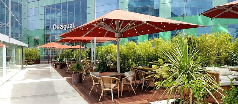 mana 75 restaurantes con terraza