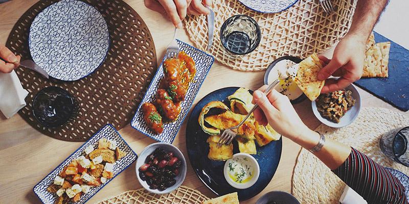 kuzina cocina griega en valencia