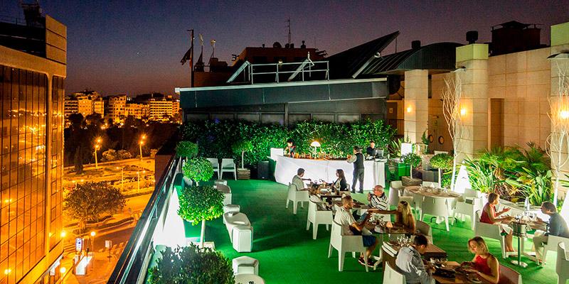 sh valencia palace mejores restaurantes con terraza de valencia