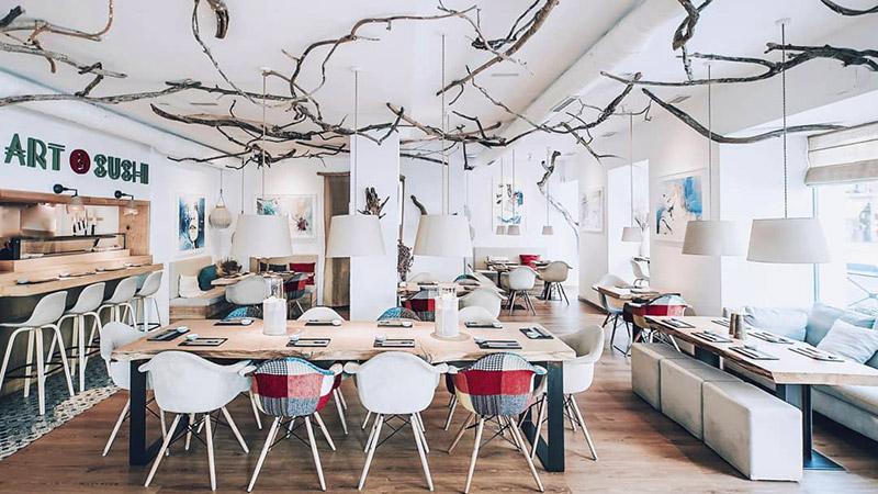 art&sushi restaurante japones madrid