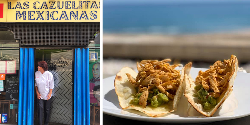 las cazuelitas mexicanas restaurante en barcelona