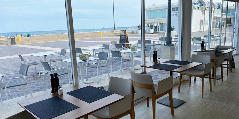 novamar restaurante en la playa de valencia