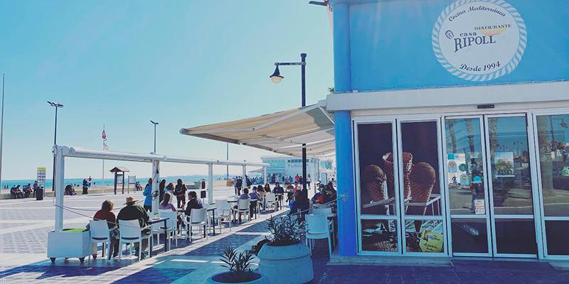 casa ripoll restaurante playa malvarrosa valencia