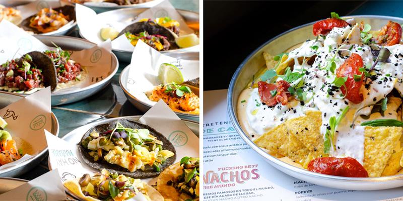 sasha bar platos mexicanos barcelona
