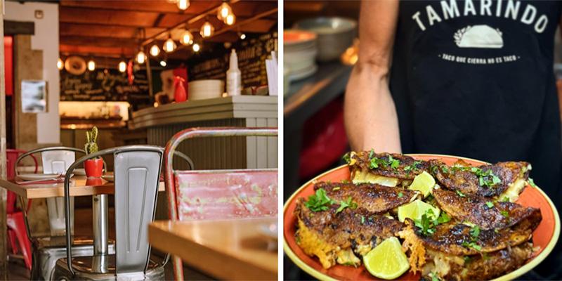 taquerías tamarindo mejores restaurantes mexicanos de barcelona